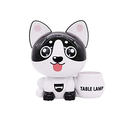 Creatief verhaal, lief kunsthandwerk kattenvoering USB spaarpot nachtlading landschap decoratie LED kleine tafellamp