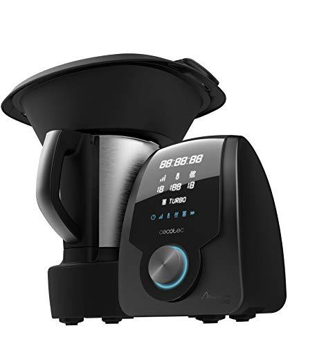 Cecotec Robot de Cocina Multifunción Mambo 8090. Capacidad 3,3L, Cuchara...