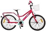 18 Zoll Kinder Mädchen Fahrrad Kinderfahrrad Mädchenfahrrad Kinderrad...