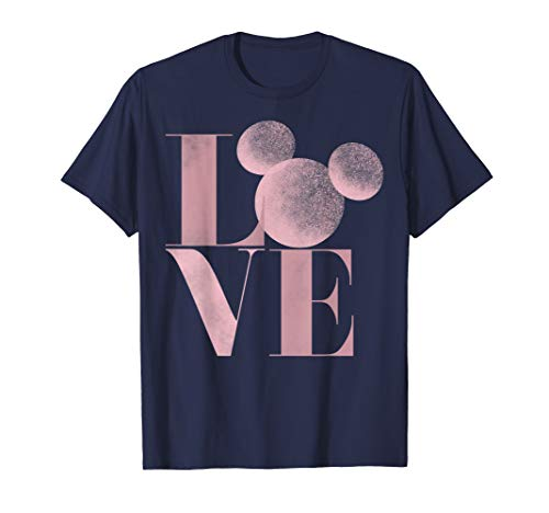 Disney Mickey Mouse Love Air Brush Letters Graphic T-Shirt
