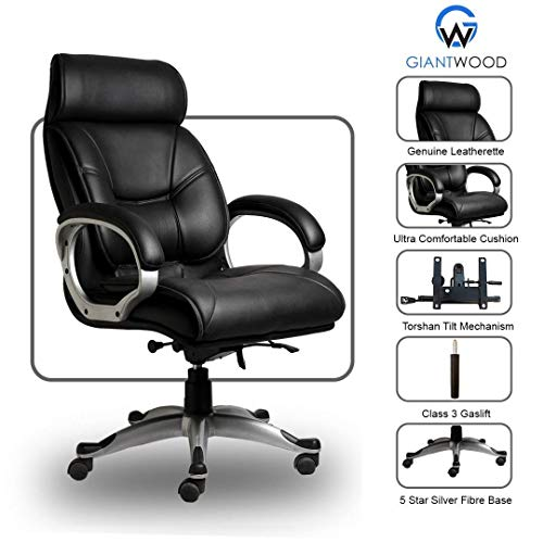Giantwood Bente High Back Director Boss Executive Revolving Office Chair High Back Support