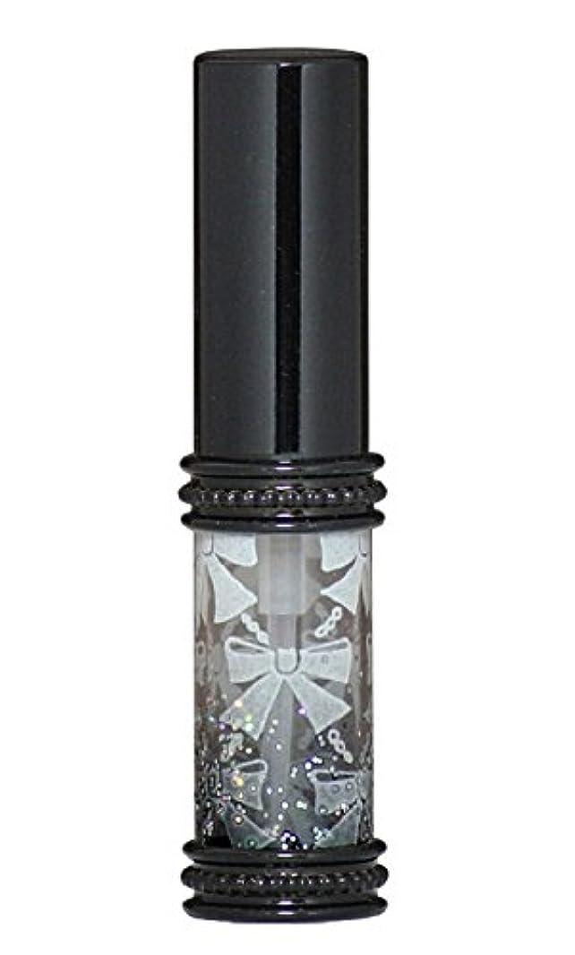 狂乱着飾る複雑でないヒロセアトマイザー メタルリボン 16209 BK (メタルラメリボン ブラック)