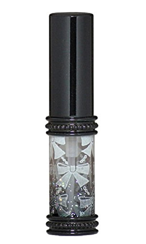 懲戒入浴クルーヒロセアトマイザー メタルリボン 16209 BK (メタルラメリボン ブラック)