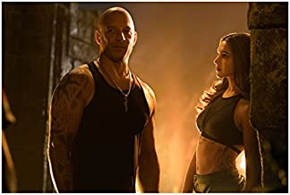 xXx Return of Xander Cage Vin Diesel with Deepika Padukone Looking On 8 x 10 Inch Photo