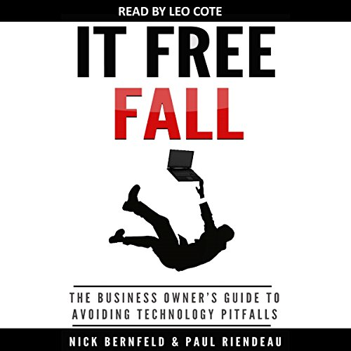 IT Free Fall audiobook cover art