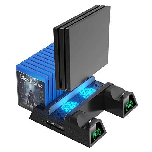 OIVO Ventilador Refrigeración Compatible Ps4/Ps4