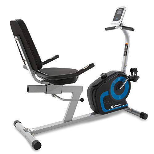 XTERRA Fitness SB120 Seated Bike, Black