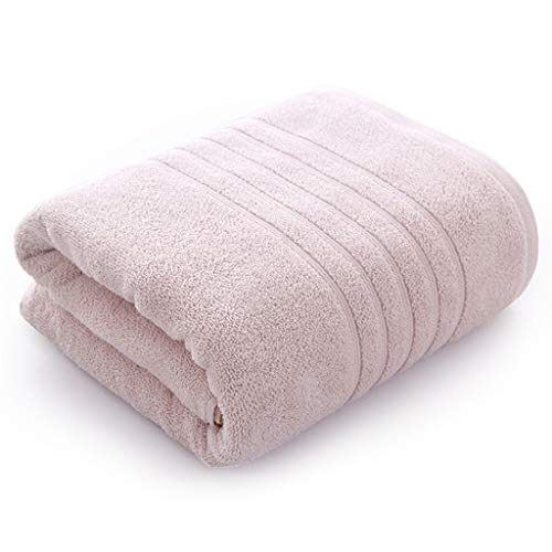 Flashing Toallas de baño absorbentes de algodón Puro Suave para Adultos hogar 70 * 140 Toallas de baño Gruesas Toalla de Playa de absorción rápida (Color : A)