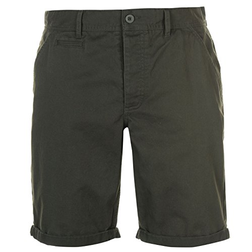 Kangol Herren Chino Shorts Deep Forest Small