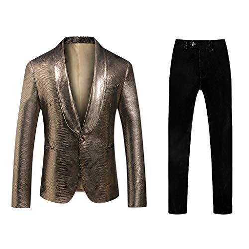 Blazer en broek, heren, blazer jeansjurk voor mannen, huwelijkskostuum, pullover, jas, blazer, heren, slim fit voor bruiloft, party, winkel