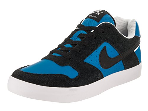 Nike SB Delta Force Vulc Scarpe da skate da uomo, nero/italia/blu