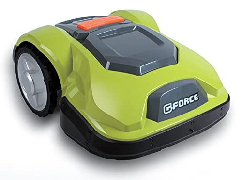 G-FORCE SW2500PRO Mähroboter für Garten bis 2500 m² mit Touchscreen und Bedienung von bis zu 4 Schnittzonen.