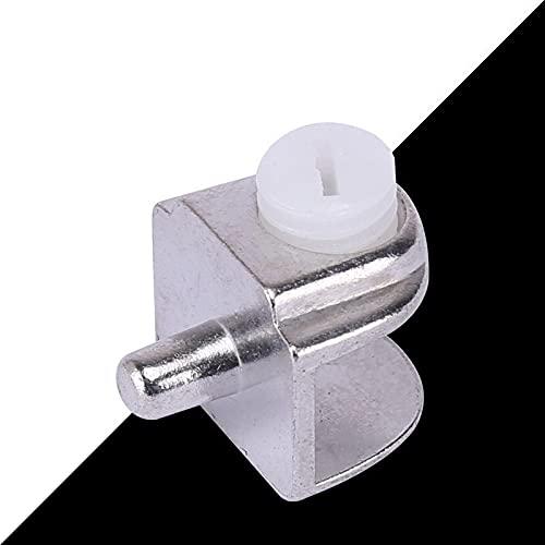 8PCS Semicírculo semicírculo de 5-9 mm de espesor de 5-9 mm de espesor del estante de vidrio Soporte de soporte del soporte de la abrazadera del soporte del soporte (Size : Clamp with handle)