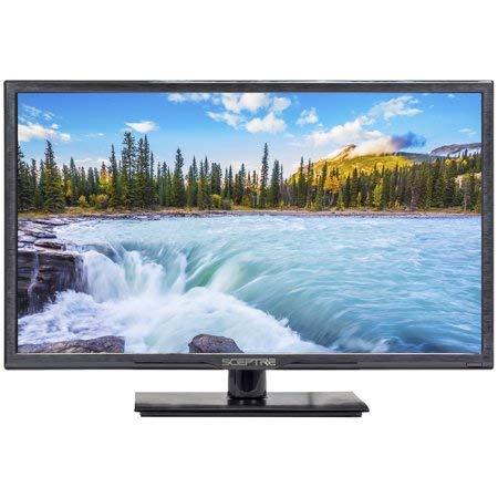 SCEPTRE 24'' Television LED Full HD Pantalla Plana con HDMI VGA USB (E246BV) (Renewed)