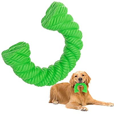 KOOLTAIL Indestructible Dog Chew Toys for Aggressive Chewers, Tough Dog Toy for Small Medium Large Dogs, Durable Natural Rubber Puppy Teething Toy Non-toxic for Dental Oral Care and Boredom