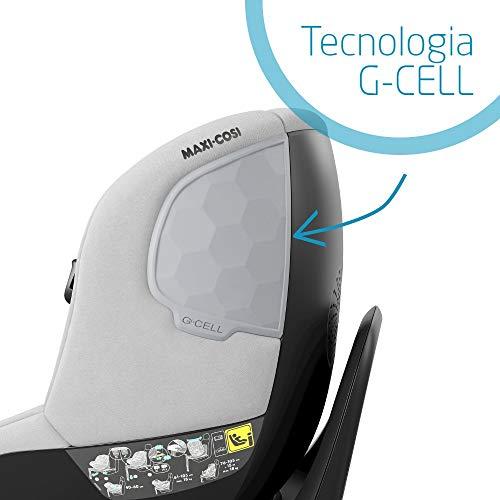 Maxi-Cosi Mica Seggiolino Auto Isofix Girevole 360° Per Bambini 0- 4 Anni (40-105 Cm) - 14.9 Kg, Authentic Grey