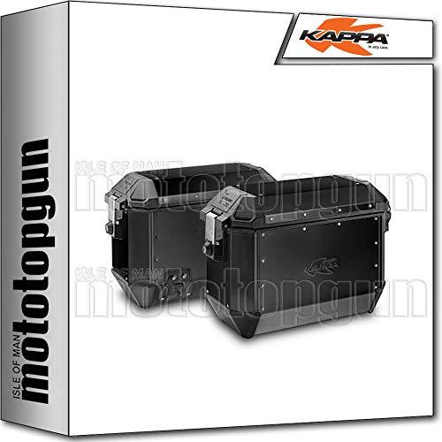 kappa valigie laterali k?mission alluminio nero monokey
