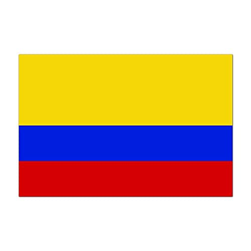 Republic of Colombia Country Pride Flag Full Color - Vinyl Decal for 13