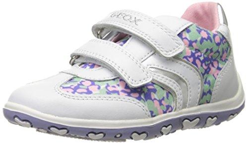 Geox - Zapatillas para niño, Color Blanco, Talla 22 EU M