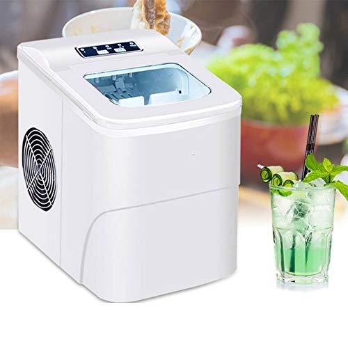 LCLLXB Tragbare 2L automatische elektrische Eismaschine Eismixer Smoothie-Maschine Gewerbe/Haushalt Eismaschine Milchtee Shop/Cafe/Cold Drink Shop Eiswürfelmaschine