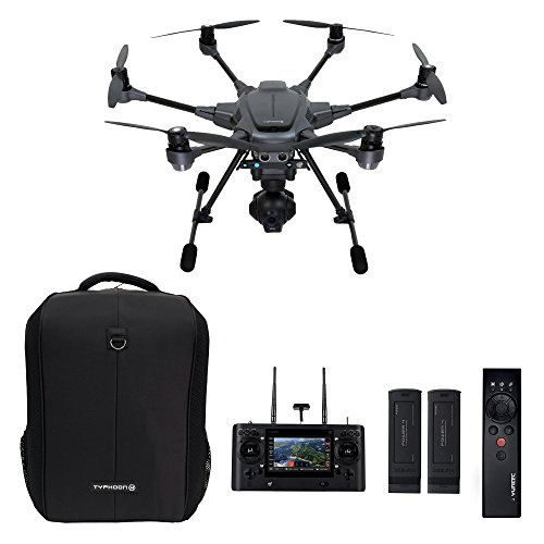 Yuneec Typhoon H Hexacopter 4K Video/12MP, Black (Certified Refurbished)