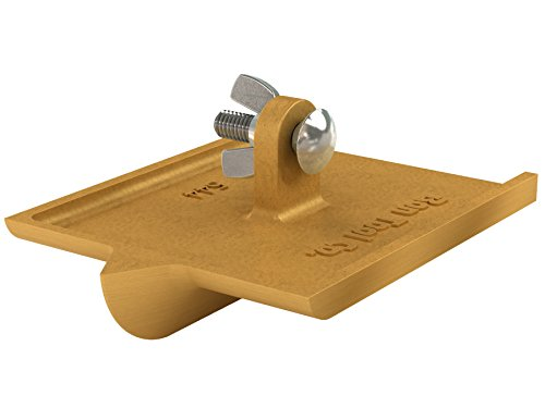 Bon Tool 12-544 6-Inch by 4-1/2-Inch Bronze Walking Concrete Groover, 3/4-Inch Bit Depth, 7/8-Inch Bit Width