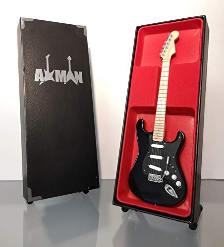 David Gilmour (Pink Floyd) – The Black Strat: Miniatur-Gitarren-Nachbildung
