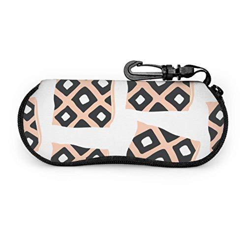 Sofe Small Pillow Comfortable Sunglasses Case Best Glasses Case Light Portable Neoprene Zipper Soft Case Mens Sunglasses Case