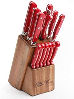 The Pioneer Woman Cowboy Rustic Forged 14-Piece Cutlery Knife Block Set