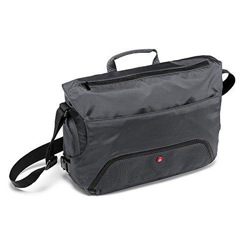 Manfrotto Advanced Befree Messenger - Bolsa para cámara, Gris, Talla M