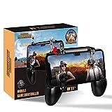 BILLOO Mobile Controller PUBG-FORNITE. L1/R1 Trigger Gamepad Compatible para IPhone iOS Android, Sensitive Shoot, Joysticks Gaming Incorporado
