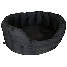 P & L Superior Pet Beds Heavy Duty Oval Waterproof Softee
