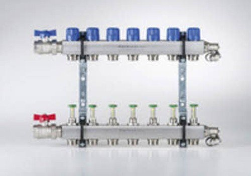 Buderus Empur Heizkreisverteiler Systemverteiler Durchflussmengenmesser, Heizkreise/Baulänge:12 HK / 650 mm