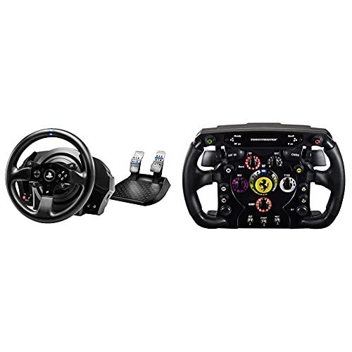 THRUSTMASTER T300 RS (Volante incl. 2-Pedali, Force Feedback, 270° - 1080°, Eco-Sistema, PS4 / PS3 / PC) & F1 Wheel ADD On Volante per (PC S3 S4/Xbox One)