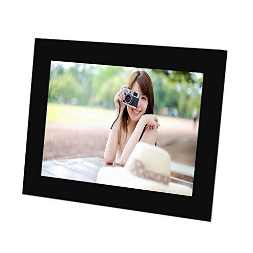 DE Digitaler Bilderrahmen Video-Werbung Ultradünne High-Definition-Multifunktions-Acryl Transparenter Rand Fotorahmen Digitale Produkte Video-Wiedergabe und Audio 12 Zoll (mit integrierter Lithium-Bat