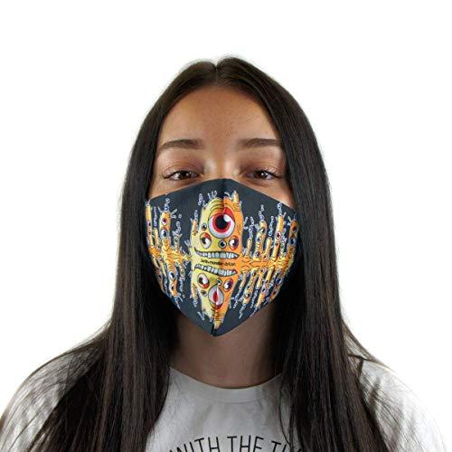 Premium Mundschutz-Maske - Atemschutz - waschbar und wiederverwendbar - BLUBBAH