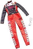Barbie Clothing - Mono de piloto de Carreras de muñecas Career Outfit con Trofeo