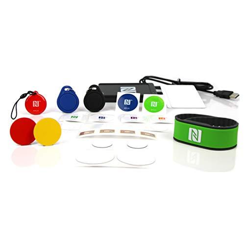 NFC Starter Kit, der perfekte Einstieg in die NFC Welt, kompatibel mit Allen NFC Endgeräten, Starter Kit Entwicklung
