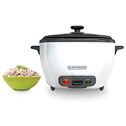 Black+Decker White RC5280 Rice Cooker
