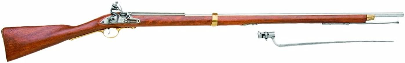 Denix 18th Century British Brown Bess Flintlock Musket American Revolutionary War Era Rifle - Non-Firing Replica