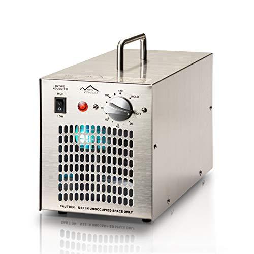 New Comfort Stainless Steel Ozone Generator UV Air Purifier