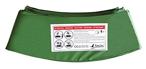 Kangui–Cuscino universale per trampolino di Ø 245–305–360–430cm, verde, 3,05 m