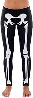 Skeleton Halloween Costume Leggings - Skeleton Tights for...