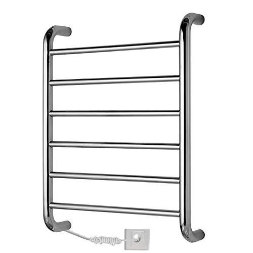 Genérico Brands Rack de tendedero calefaccionado Conveniente Radiador Toallero montado en la...