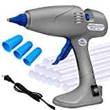 Hot Glue Gun - MONVICT Full Size 80/120W Craft Glue Gun, Dual Power Heavy Duty Hot Melt Glue Gun Corded & Cord Detachable Use, Base Stand Industrial Hot Glue Gun for DIY Crafts with 12 Glue Sticks