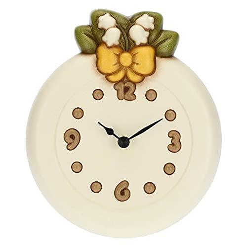 THUN - Orologio da parete tondo in ceramica - Living, orologi - Idea regalo - Ø 18,5 cm; profondità 4,7 cm
