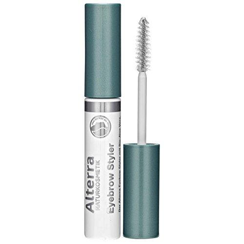 Alterra Eyebrow Styler 01transparente, Cuidado, forma de fijación 10ml para Cejas, con extracto de aloe vera, bambú, arginina bio y Bio de extracto de algas, natural con Certificación cosmética