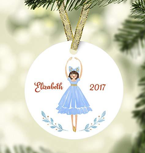 BYRON HOYLE Nutcracker Christmas Ornament Clara Ornament Ballet Christmas Ornament Personalized Christmas Ornaments 2020 Pandemic Xmas Decor Wedding Ornament Holiday Present