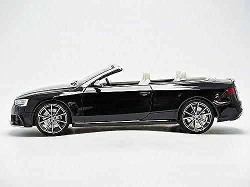 Audi RS5 Cabriolet, metallic-Schwarz 0, Modellauto, Fertigmodell, GT Spirit 1 18