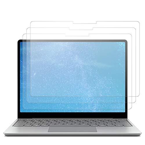 J&D Displayschutz Kompatibel für Microsoft Surface Laptop Go Schutzfolie, 3 Stücke Antireflektierend Nicht Ganze Deckung Matte Folie Displayschutzfolie für Surface Laptop Go